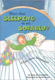 Cover of: Who's that sleeping on my sofabed?