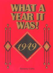 Cover of: What a Year It Was! 1949