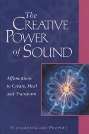 Cover of: The Creative Power of Sound