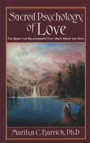 Cover of: Sacred psychology of love