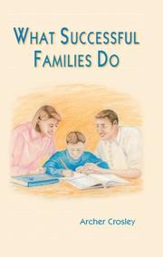 Cover of: What Successful Families Do
