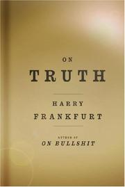 Cover of: On Truth | Harry G. Frankfurt