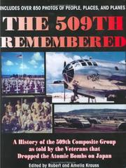 Cover of: The 509th Remembered