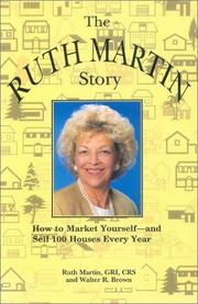 Cover of: The Ruth Martin story | Martin, Ruth