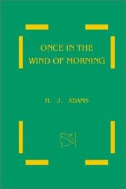 Cover of: Once in the Wind of Morning