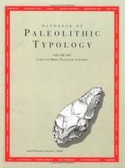 Cover of: Handbook of paleolithic typology | AndreМЃ DebeМЃnath