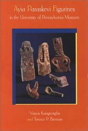 Cover of: Ayia Paraskevi figurines in the University of Pennsylvania Museum