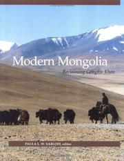 Cover of: Modern Mongolia