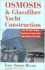 Cover of: Osmosis & glassfibre yacht construction