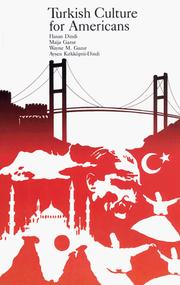 Cover of: Turkish culture for Americans |
