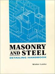 Cover of: Masonry and Steel Detailing Handbook