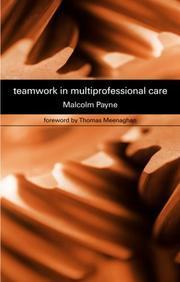 Cover of: Teamwork in multiprofessional care
