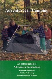 Cover of: Adventures in camping | Barbara McMartin