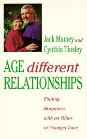 Cover of: Age different relationships | Jack Mumey