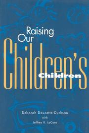 Cover of: Raising our children