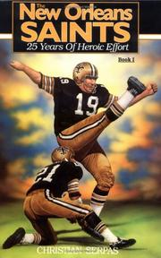 Cover of: New Orleans Saints Book 1 | Serpas