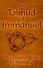 Cover of: The Talmud of Jmmanuel |