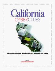 Cover of: California cybercities | Michaela D. Platzer, Christopher A. Novak, Matthew F. Kazmierczak