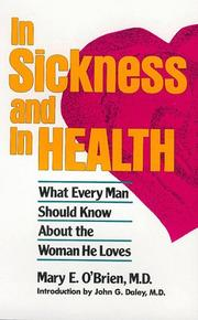 Cover of: In sickness and in health