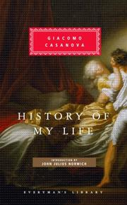 Cover of: History of My Life