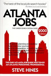 Cover of: Atlanta Jobs 2000 (Atlanta Jobs)