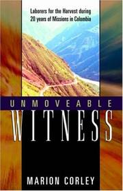 Cover of: Unmoveable Witness