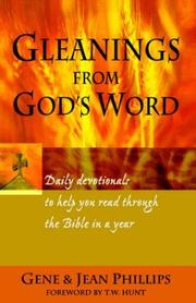 Cover of: Gleanings from God's Word 2nd Edition