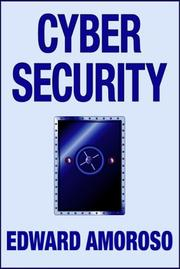 Cover of: Cyber Security
