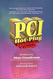 Cover of: PCI HotPlug Application and Design