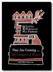 Cover of: They are coming--
