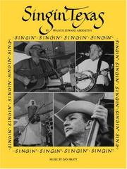 Cover of: Singin' Texas (Publications of the Texas Folklore Society, Exb 18)