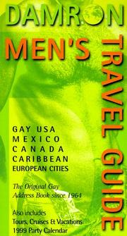 Cover of: Damron Men's Travel Guide