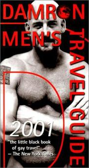 Cover of: Damron Men's Travel Guide 2001 (Damron Men's Travel Guide, 2001)