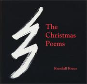 Cover of: The Christmas Poems | Krandall Kraus