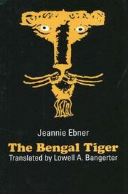Cover of: The Bengal tiger