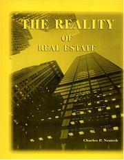 Cover of: The Reality of Real Estate