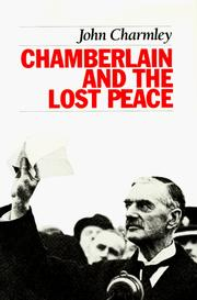 Cover of: Chamberlain and the lost peace