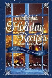 Cover of: Hallelujah Holiday Recipes from God's Garden