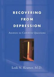 Cover of: Recovering From Depression