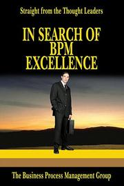 Cover of: In Search Of BPM Excellence