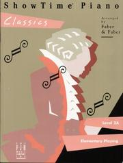 Cover of: ShowTime Piano Classics