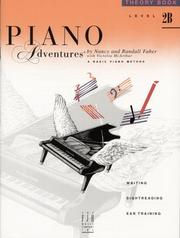 Cover of: Piano Adventures | Nancy & Randall Faber