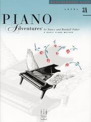 Cover of: Piano Adventures Performance Book, Level 3A