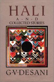 Cover of: Hali and collected stories
