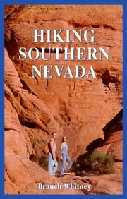 Cover of: Hiking southern Nevada