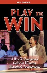 Cover of: Play to Win