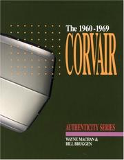 Cover of: Corvair, 1960-1969 (Authenticity Series)