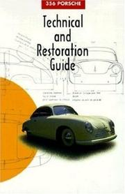 Cover of: 356 Porsche Technical and Restoration Guide