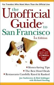 Cover of: The unofficial guide to San Francisco