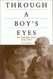 Cover of: Through a Boy's Eyes
